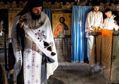Early Orthodox religious services Photo by Bogdan Comanescu -- National Geographic Your Shot