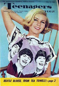 sixties beatles shirt