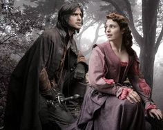 """The Musketeers quotes """"You shine so brightly in my eyes, it puts every other woman in the shade."""" D'artagnan and Constance The Musketeers Tv Series, Bbc Musketeers, The Three Musketeers, Howard Charles, Luke Pasqualino, Tom Burke, Bbc Drama, Bbc America, Period Dramas"""