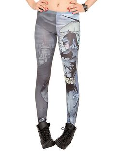 DC Comics Batman Leggings | Hot Topic (want but they wouldn't be as cool with protective gear on)