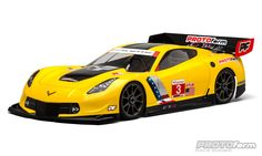 PROTOform brings Corvette Racing's championship heritage to 1:8 GT Class racing with the officially-licensed Corvette™ C7.R race body. From the signature Corvette™ muscular stance and swept-back roofline, to the large front splitter and side vents, every detail of the 1:1 race car is captured to add scale realism to the world of 1:8 GT. #racepf #protoform #protoformracebodies #chevy #corvette Mfg part number 1546