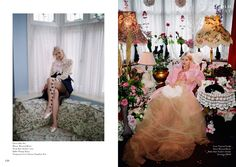 Pussy Palace – Fashion editorial for Old Tat Magazine Creative Director: Loo Loo Rose  Flower Designer: Yan Skates Set designer: Yan Skates  Photographer: Rosaline Shahnavaz  Stylist: Minna Attala  MUA and Hair: Valentina Syed