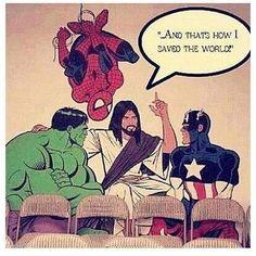 The real Super Hero #Humor #Catholic
