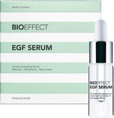 BIOEFFECT EGF Serum 15 ml Tehostaa ihosolujen uusiutumista, kirkastaen ja kiinteyttäen ihoa. Kaikille ihotyypeille.