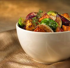 Thyme-scented roasted vegetables #Christmas #Dinner #recipe #cooking #clean_eating