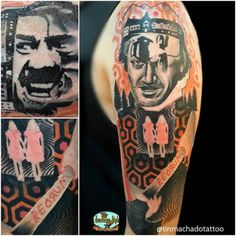 The Shining tattoo by Tin Machado TinMachado graphic theshining shining movie collage