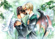 Drarry with wings