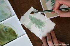 The first in a monthly series of 10 minute nature art lessons focused on a technique and a short nature study. Paint a winter tree in under ten minutes!