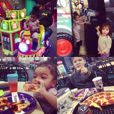 Early #Friday fun after our doctor visit @chuckecheese...