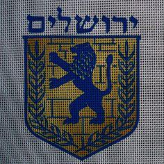 Needlepoint canvas 'Jerusalem'