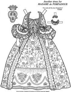 Great Women Coloring paper dolls – Maria Varga – Picasa Nettalbum