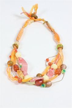 Teresa Goodall - Necklace - Geranium Collection - Teresa Goodall at Fawbush's