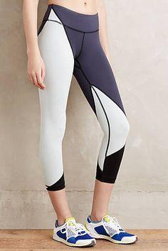 Cropped Colorblock Leggings