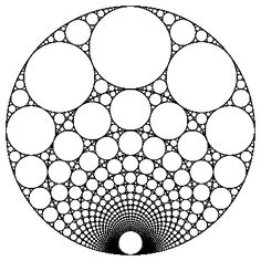 something like this with the circles as an underboob tattoo maybe with a mandelbrot fractal attached as well