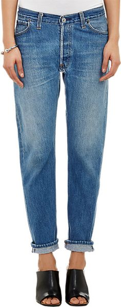 RE/DONE Relaxed Straight Jeans - Straight - Barneys.com