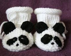 baby knitted booties patterns – Etsy
