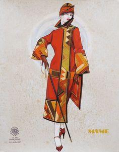 Mame. Kennedy Center. Costume design by Gregg Barnes. 2006