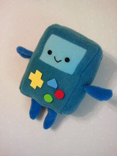 BMO - Gameboy Mini Plush. $15.00, via Etsy.  OH. MY. GLOB. #need