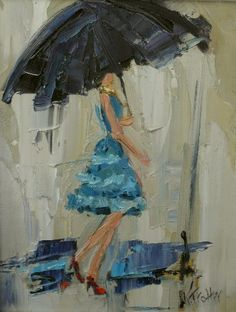 Dancing in the Rain by Kathryn Trotter.
