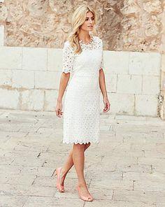 JOANNA HOPE Lace Dress | Fifty Plus