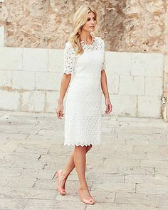 JOANNA HOPE Lace Dress | Fifty Plus