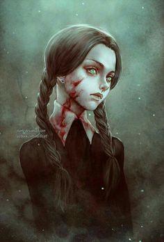 Image about girl in Horror💀👹 by Princess Mira Arte Horror, Horror Art, Art Manga, Anime Art, Fantasy Kunst, Fantasy Art, Art Sinistre, Arte Obscura, Creepy Art