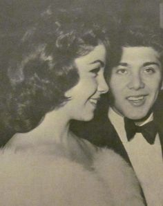Annette Funicello and Paul Anka Photo