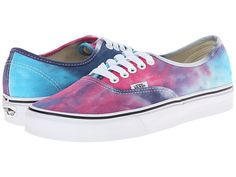 Vans Authentic™ (Tie Dye) Pink/Blue - Zappos.com Free Shipping BOTH Ways
