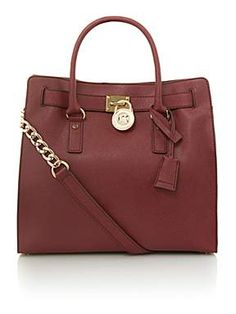 MICHAEL MICHAEL KORS Red Cross Body Tote Bag http://ow.ly/qt6xP