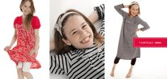 MiniKrea sewing pattern - T-shirtkjole 30003 | buy in-store and online from Ray Stitch