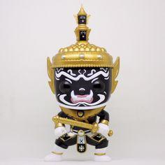 Black Tossakan out of box Pop Toys, Legendary Creature, Thai Art, Foo Dog, Thai Style, Vinyl Toys, Designer Toys, Southeast Asia, Laos