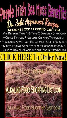 CLICK THE IMAGE To order and begin your journey to great health using Dr. The Official Dr. Sebi's Guide Of Vegan Transformation For Beginners. Food Shopping List, Diet Food List, Food Lists, High Sources Of Iron, Foods To Stop Bloating, Seamoss Benefits, Type 2 Diabetes Symptoms, High Blood Pressure Causes, Alkaline Diet Recipes