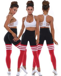 "The ""FIRE"" high waist thigh high leggings from have released ! Workout Attire, Workout Wear, Workout Fitness, Thigh High Leggings, Pinterest Workout, Academia Fitness, Shorty, Sporty Outfits, Yoga Outfits"