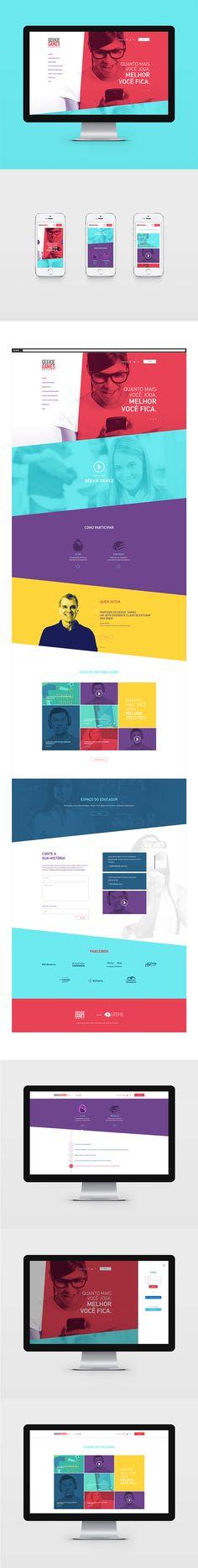 Geekie Games Graphic Design, Web Design