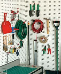 30 Piece Home and Garage Tools, Hardware Organizer Hooks Set