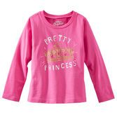 Your princess is pretty in pink with this tiara-adorned tee.<br>
