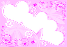 Cute Pink Heart Shaped Card   Live HD Wallpaper HQ Pictures, Images ...