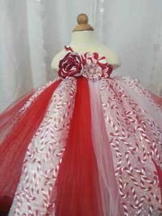 Check out this item in my Etsy shop https://www.etsy.com/listing/211748321/christmas-candycane-tutu-dress
