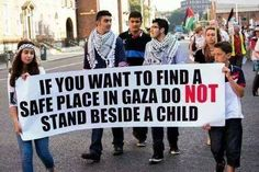 """""""If u want to find a safe place in don't stand beside a child of deaths in Gaza r children Warsaw Ghetto, United We Stand, Peace And Harmony, Save The Children, Safe Place, Faith In Humanity, Oppression, My Passion, Love You"""