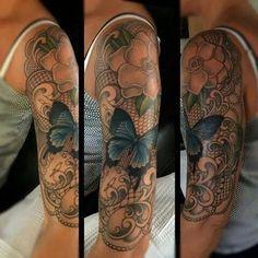 Butterfly sleeve