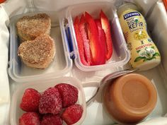 The Full Plate Blog: lunchbox ideas