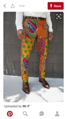 Stylish ideas on Africa fashion 621 African Clothing For Men, African Print Fashion, Africa Fashion, African Attire, African Wear, African Style, Fashion Pants, Mens Fashion, Fashion Outfits