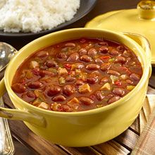 Habichuelas Guisadas, or Stewed Red Beans, is a savory dish of seasoned beans, usually accompanied by rice. It's a favorite meal or side dish in many Caribbean countries including Puerto Rico, the Dominican Republic and Cuba. Made with a handful of convenient signature GOYA® products, this Habichuelas Guisadas recipe gets an extra boost of flavor from Goya® Recaito, a savory mixture of cilantro, garlic, and onion.