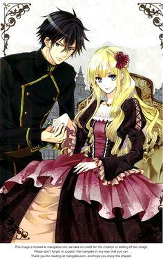 Okobore Hime to Entaku no Kishi | it's a new manga and i [REALLY] like it <3