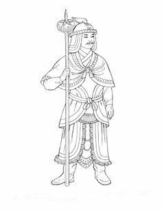 mongol book coloring pages - photo#13