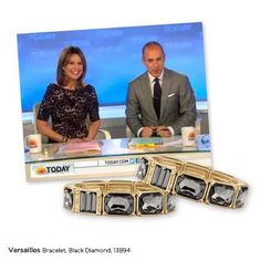 Spotted! Savannah Guthrie wearing the Versailles bracelets again on the Today Show. Thanks for your continued support! www.liasophia.com/mariewatson