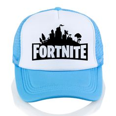 2f56b8f35b1d New Arrivals Daft Punk Male cap Fortnite Print baseball cap Fashion Men  women summer Mesh cap trucker cap