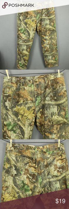 19813655a Wranger Advantage Timber Camo Jeans 40x30 Wranger Advantage Timber Camo  Camouflage Jeans 40x30 Mens Hunting 5