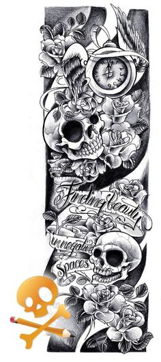 Tattoos Sleeve Ideas Drawings