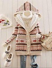 New 2014 Women's Snowflake Printed Fleece Thi... – USD $ 30.09